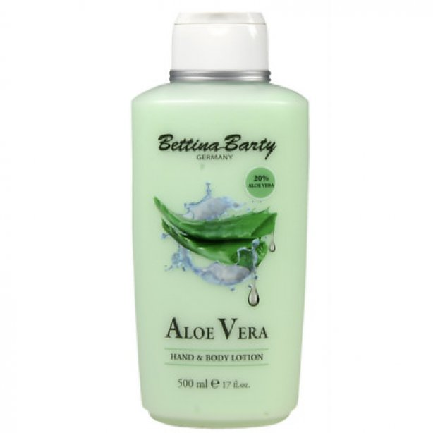 Bettina Barty Aloe Vera Hand & Body Lotion, 500 ml