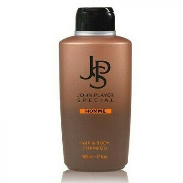 John Player Special Homme Hair & Body Shampoo, 500 ml