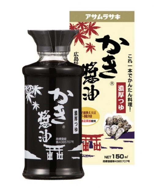 ASAMURASAKI OYSTER SOY SAUSE WITH DRESSING BOX 150 ML.