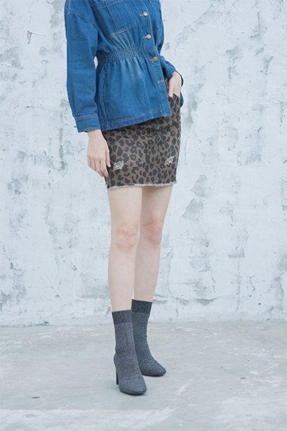 Wild Cheetah Mini Skirt