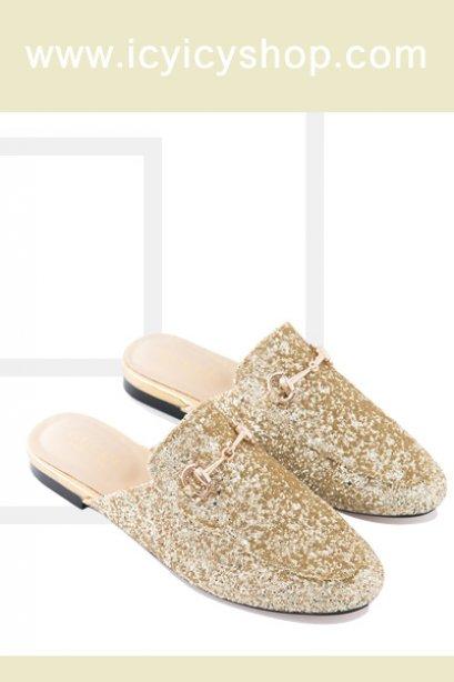 Skarlet Sequin Loafers - SI11102