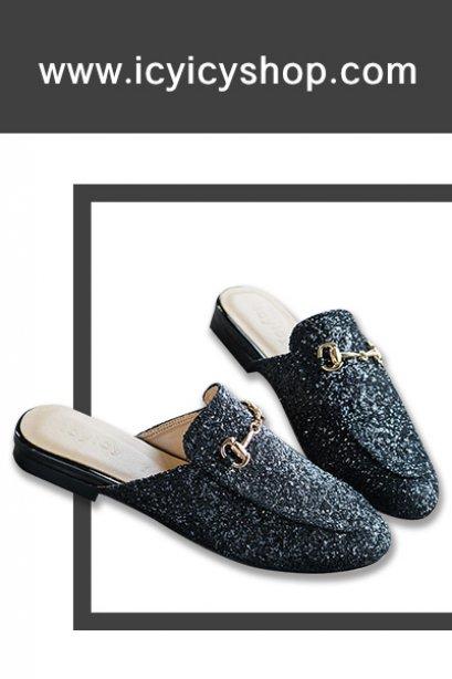 Skarlet Sequin Loafers - SI11101
