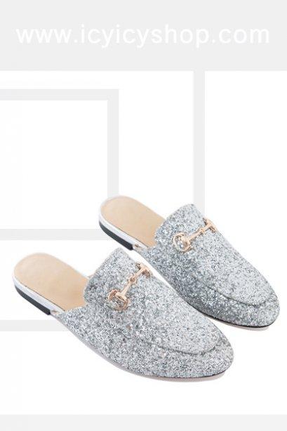 Skarlet Sequin Loafers - SI11103
