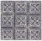 ผ้าคอตต้อน Lecien by Masako สีน้ำเงิน ขนาด 1/2 เมตร (50 x 110 ซม.)