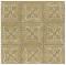 ผ้าคอตต้อน Lecien by Masako สีน้ำตาล ขนาด 1/2 เมตร (50 x 110 ซม.)