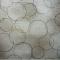 ผ้าคอตต้อนญี่ปุ่น ลายวงกลม สีน้ำตาลอ่อน 1/4 เมตร (50 x 55 ซม.)