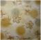 ผ้าคอตตอนญี่ปุ่น ลายดอก สีน้ำตาลทอง 1/4 เมตร (50 x 55 ซม.)