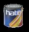 สีทับหน้าเกล็ดประกายรุ้ง hatoGL7307 บานเย็น A+B กล.
