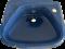 TF-0921 อ่างล้างหน้าแขวนผนัง [ สีน้ำเงินเข้ม สีแดง ] รุ่น CORVETTE  - American Standard