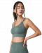 ICIW Define Seamless Sports Bra Jungle Green