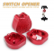 Keycaps Switch Opener Tester CNC Metal Magnetic Shaft(red)
