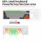 SKYLOONG GK68XS คัสต้อมคีย์บอร์ดคิท บลูทูธ+สาย (bluetooth) hotswap 65% 68 keys mechanical keyboard