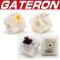 Gateron Cap Milky switches yellow brown ตัวอัพเกรด gateron KS9 และ Milky