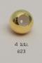 Stopper 4mm. [เงินชุบทอง] / Z23