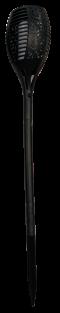 ไฟปักสนามโซล่าเซลล์ทรงคบเพลิง JY1837 LED 96 ดวง 1500mah