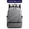 กระเป๋าเป้สะพายหลังกันน้ำ กระเป๋าเดินทาง USB ชาร์จ