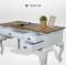 โต๊ะทำงานไม้สักสไตล์วินเทจ AT037