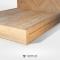 เตียงไม้สัก 3ลิ้นชัก BE110