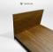 เตียงไม้สักญี่ปุ่นโมเดิร์น BE104