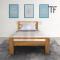 เตียงไม้สัก BE001