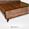 เตียงไม้สัก BE011