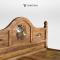 เตียงไม้สัก BE012