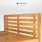 เตียงไม้สัก BE021
