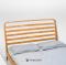 เตียงโมเดิร์นไม้สัก BE072