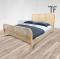 Lisa Bed เตียงไม้สักผสมหวาย BE073