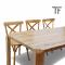 ชุดโต๊ะอาหารไม้สัก DS050