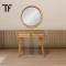 โต๊ะเครื่องแป้งไม้สัก DT019