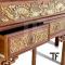 โต๊ะพระจีนทรงสูงลายมังกร AA042