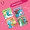 มังกรน้อยจีโน่ ชุด เล่นสนุกในบ้านย นิทาน 2 ภาษา นิทานภาพ หนังสือเด็กเสริมพัฒนาการ พัฒนาทักษะ EF