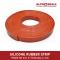 Silicone Rubber Strip  50x6 mm