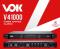เพาเวอร์ VOK รุ่น V41000 (4ชาแนล) 1U - CLASS D
