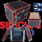 ตู้แร็ค RACK PROPLUS 10U - อลูมิเนียม