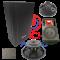 ตู้(ไม้แท้) COMSON รุ่น RCF12