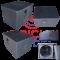 ตู้ซับเบส JRX รุ่น SRC (CNC machine)