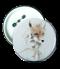 เข็มกลัด พิมพ์ภาพ Girl&Fox Badge