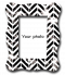กรอบรูป Brush chevron pattern frame