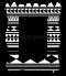 กรอบรูป Black&White Tribal pattern frame