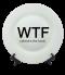 จานพิมพ์ลาย WTF Dish&Plate