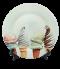 จานพิมพ์ลาย Ice Cream Cones Dish&Plate
