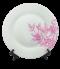 สกรีนจาน Wood & Flowers Dish&Plate
