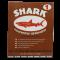 กระดาษทรายขัดไม้และงานเฟอร์นิเจอร์ ตราปลาฉลาม (SHARK) 60 แผ่น เบอร์ 0-5