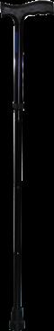 ล็อคไม้เท้า 1 ขาสีดำทั้งด้าม DY2893 (DY05939L)