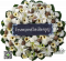 พวงหรีดดอกไม้สดLF50