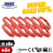 Super Sale คุ้มยกแพค สลิงผ้าใบ 12 เส้น ชนิดกลม น้ำหนักยก 5 ตัน ยาว 3 เมตร