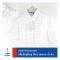 Man Dot White เสื้อเชิ้ตสุภาพบุรุษ สีขาว ลายจุด
