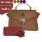 โปรโมชั่นพิเศษ กระเป๋าหนังวัวลายช้าง รุ่น MT213 แถมฟรี กระเป๋าสะพายใบเล็ก รุ่นสีแดง 1ใบ